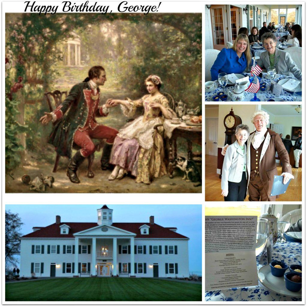 george tea collage best