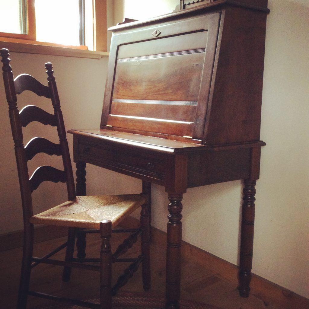 july cabin desk