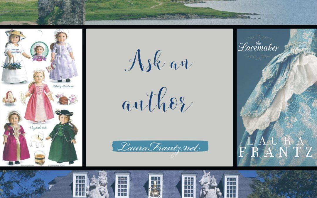 Ask an author